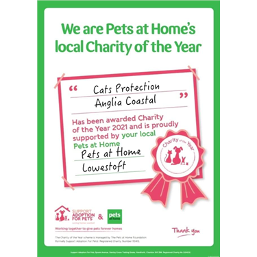 We are Pets at Home Lowestoft