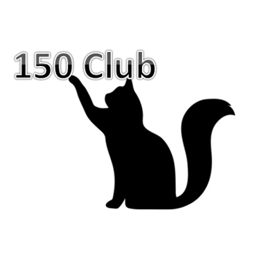 Hurry, hurry, there are only a few numbers available in our 150 Club!