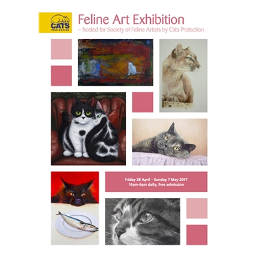 Feline Art Exhibition at NCAC
