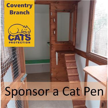 Sponsor a cat pen