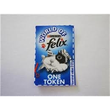 World Of Felix Cat Food Tokens