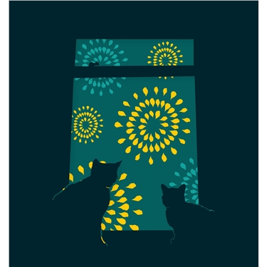 Fireworks - Keeping Your Cats Safe
