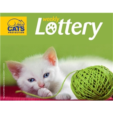 **Play the weekly Cats Protection Lottery!**