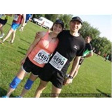 Support our marathon runner!