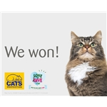 We won the Pets at Home VIP vote!