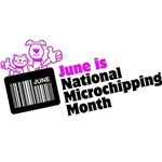 June is National Microchipping Month