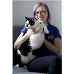 King-sized kitty fights the flab with charity's help