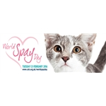 World Spay Day - Tues 23 February