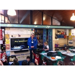 CP talks at Elson Infant School