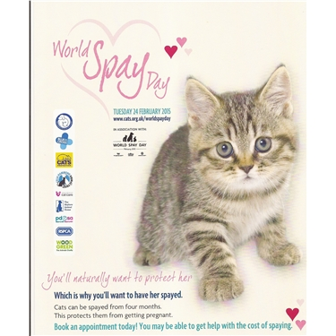 **WORLD SPAY DAY**