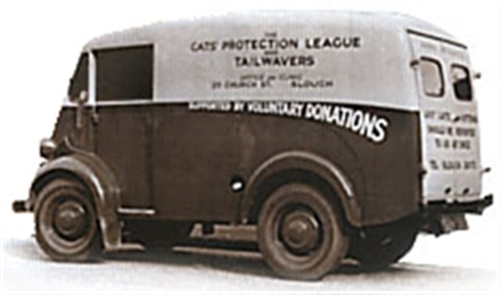 A CP van from back in the day!