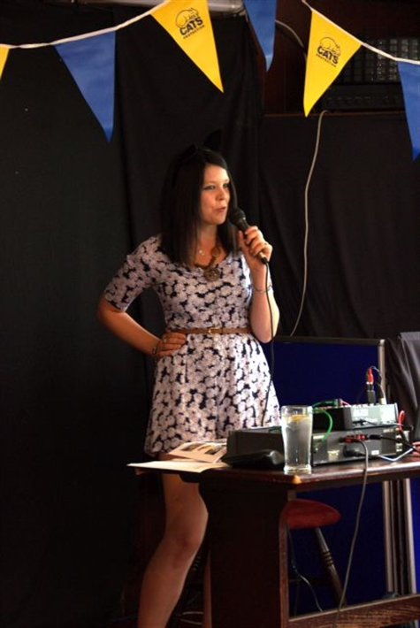Photograph 2 Emily at Stourbridge CP Fundraising Evening 12.07.2014