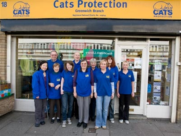 Cats Protection Greenwich shop