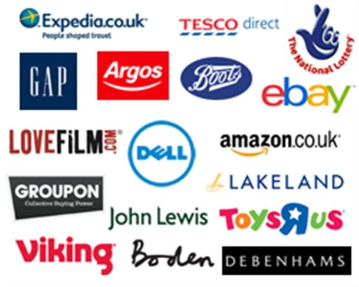 Easyfundraising retailers
